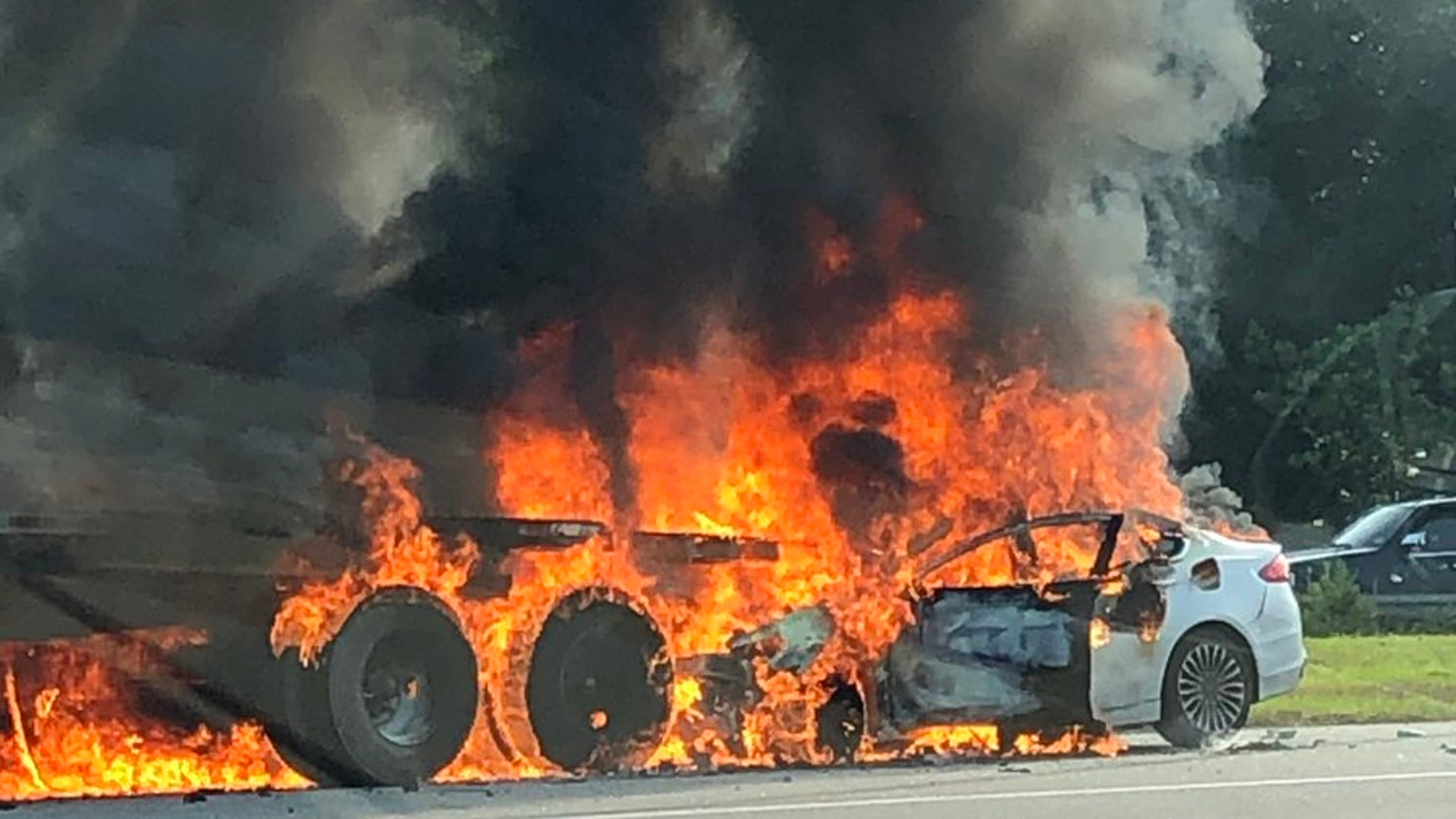 Route 80 crash: Man killed in fiery crash in Parsippany