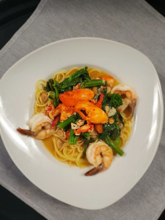 Shrimp, lobster and other seafood dress up pasta dishes at Bucco.