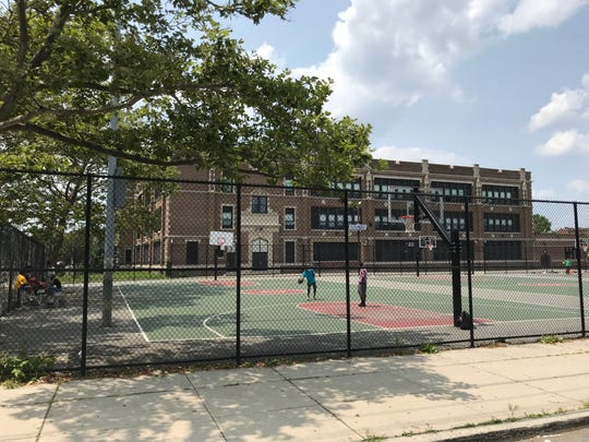 The basketball courts at School 11 will be filled on Saturday for the Doing it in the Park tournament
