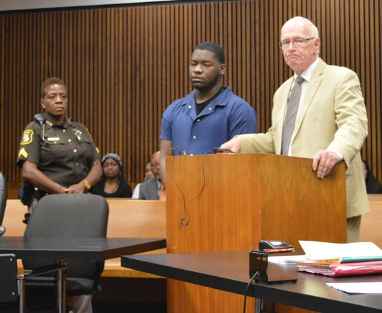 Antoine Perry, 17, of Wayne was sentenced  Wednesday, July 10, 2019, in the shooting death of Devin Woods, 19, of Ypsilanti.