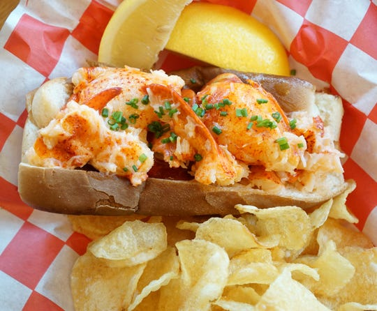 Hazel, Ravines & Downtown's classic chilled lobster roll.