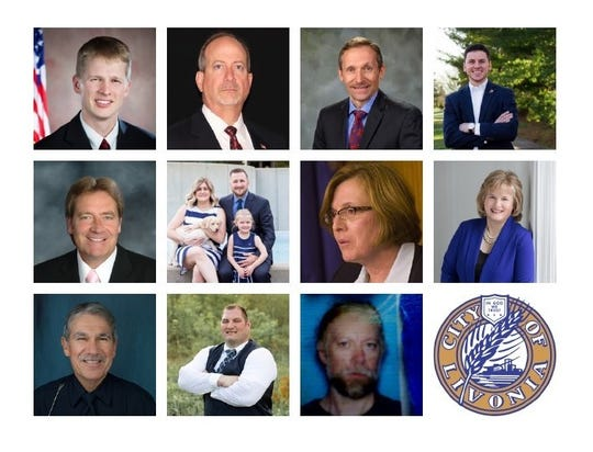 12 candidates are vying for eight ballot spots in the November city council election.