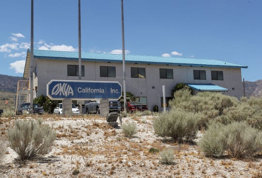 The Swiss company Omya operates a limestone mine in Lucerne Valley, Calif. Photo taken June 19, 2019.