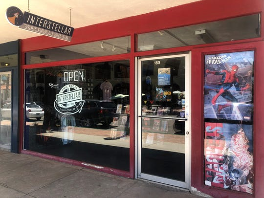 Local artists and performers will be at Interstellar Comic Books & Collectibles in August