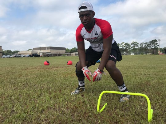 Chris Page is ready for his third year as a varsity starter for West Florida's defense.