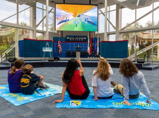 For the first time, the National Naval Aviation Museum is offering a live streaming of the Blue Angels Pensacola Beach Air Show. The museum invites guests to bring towels and blankets to its Blue Angels atrium and enjoy the air-conditioned view on Saturday.