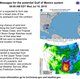 Wednesday Gulf of Mexico storm update: Here's the latest from the National Weather Service