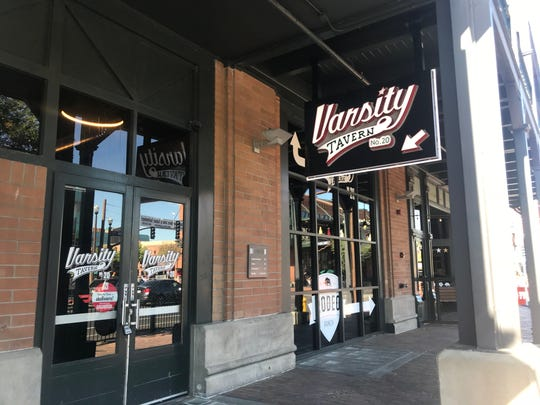 The entrance to Varsity Tavern in Tempe. The bar closed following a June 29 incident.