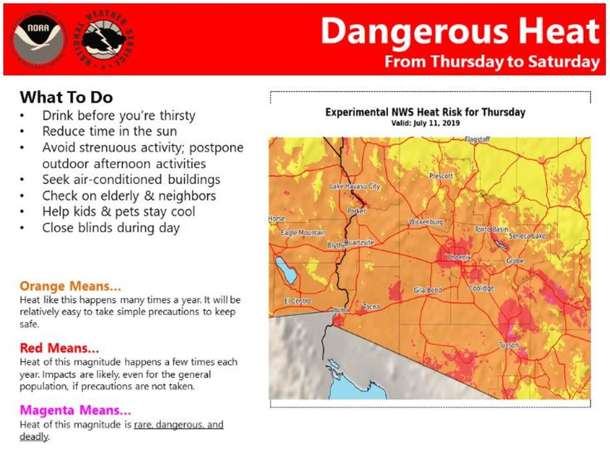 Arizona monsoon season: High heat could bring storms, dust