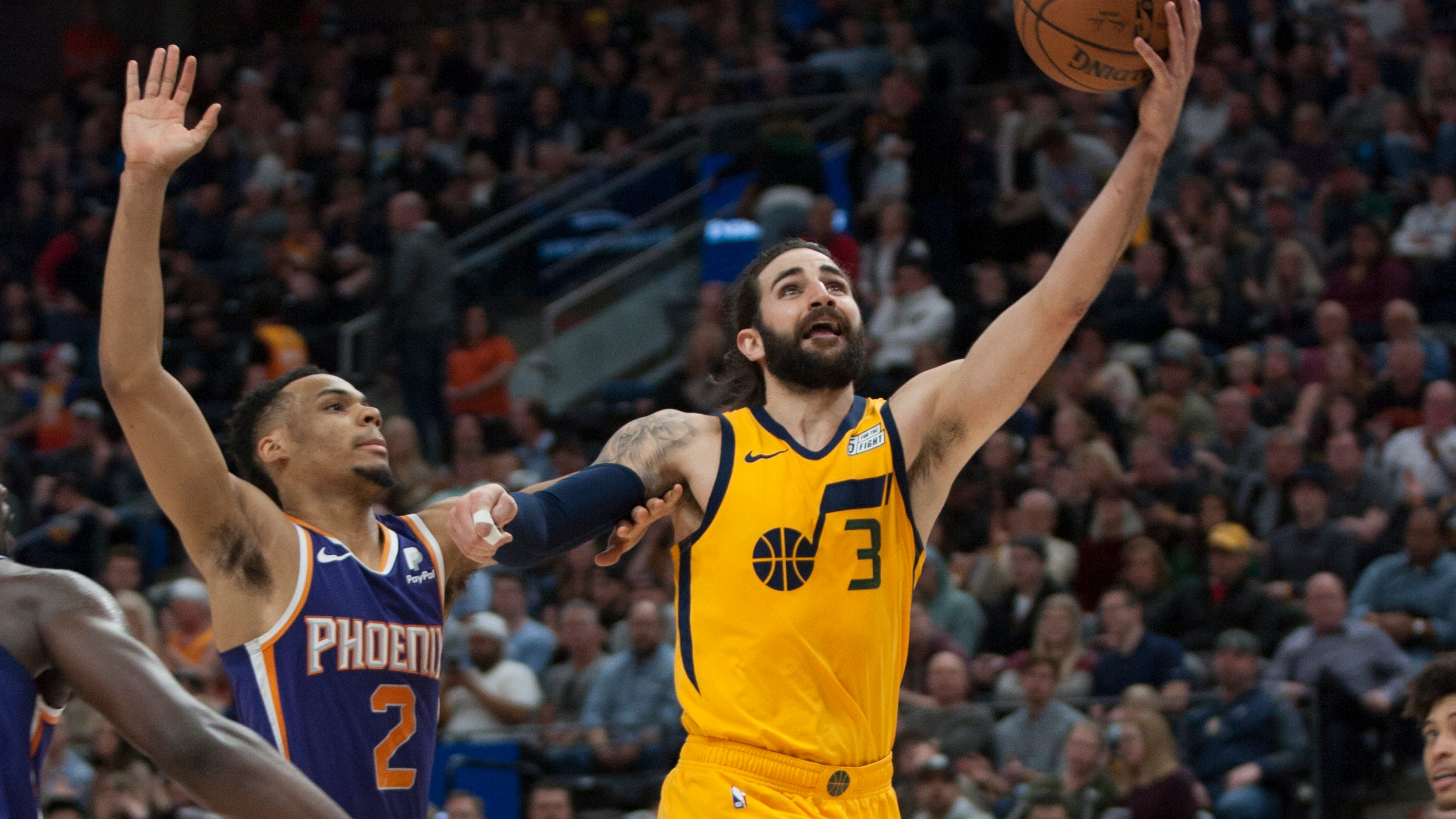 Welcome to Phoenix Ricky Rubio  : suns