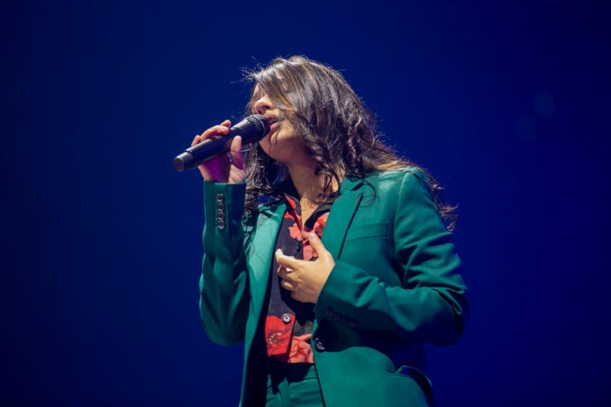 Alessia Cara opens for Shawn Mendes at Gila River arena Tuesday, July 9 in Glendale.