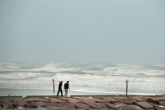 Se esperan crecidas de mar en la costa de Texas y Florida, para este viernes.