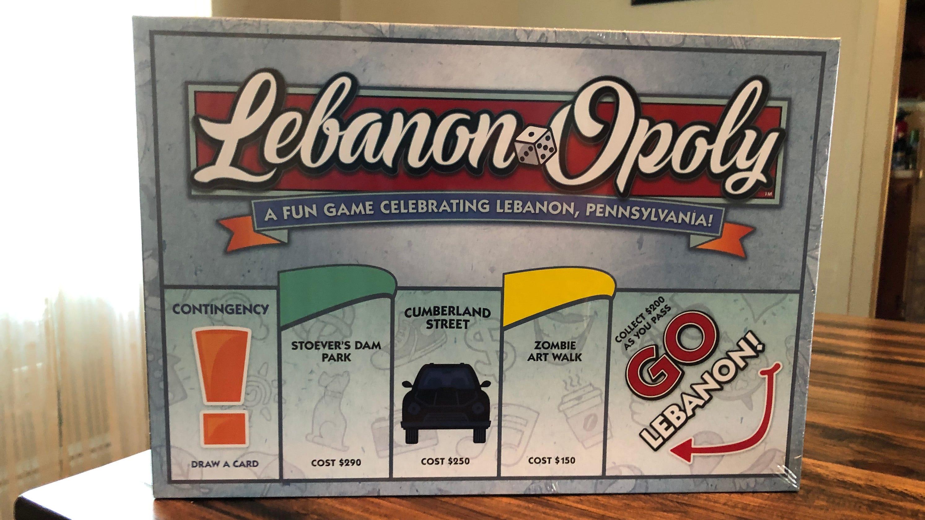 Monopoly imitation, Lebanon-Opoly, now on sale at Walmart