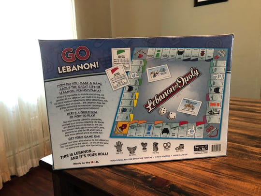 The most coveted properties in Lebanon aren't Boardwalk and Park Place – they're the courthouse and downtown, at least according to the new Lebanon-Opoly board game.