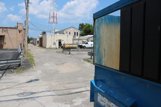 The city's laws, rules and ordinances committee is looking into the issue of overt dumpsters at commercial properties, something officials said they have been hearing complaints about from other property owners.