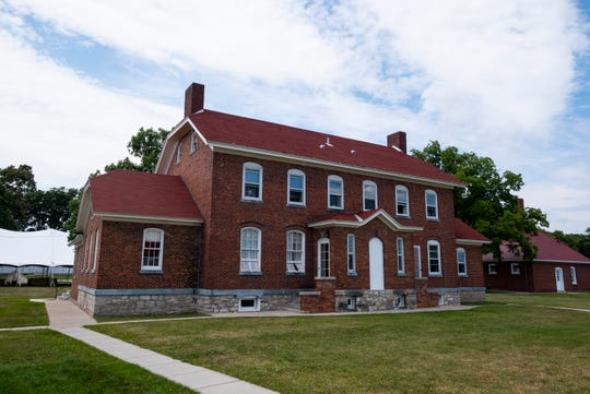The keeper's duplex at the Fort Gratiot Light Station will be open for tours during Sandfest this weekend.