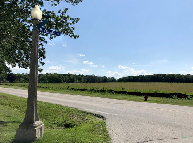 Kohler's new subdivision, The Clearings, will be on the west side of Woodland Road between Forest and Woodlake roads, as seen Wednesday, July 10, 2019, in Kohler, Wis. The sales of lots for the new development in the Village of Kohler will include street lights, sidewalks, trees, and municipal water and sewer.