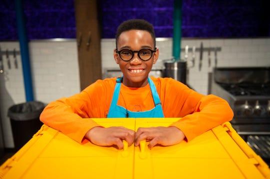 Contestant Owen Osborne, as seen on Chopped Junior, Season 8.