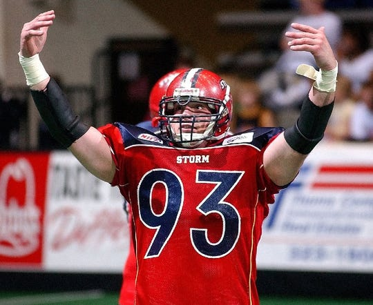 Nate Fluit was a key member of the Storm's early championship teams