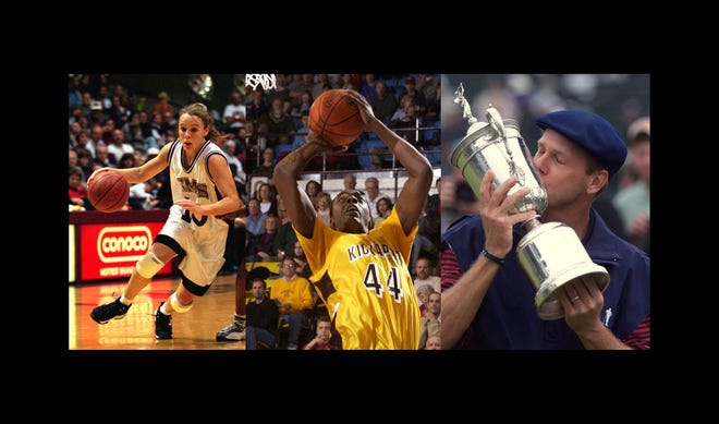 Jackie Stiles, Anthony Tolliver, and Payne Stewart