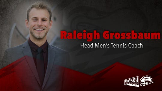 New SUU men's tennis coach Raleigh Grossbaum.