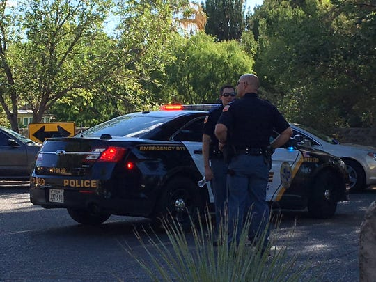 Police said two people were sent to a hospital after a shooting Tuesday, July 9, 2019, in the 700 block of Waltham Court in the Country Club area in West El Paso.
