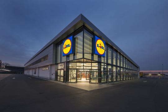Submitted/Lidl US This example of a Lidl supermarket is in Arcole, Italy. This example of a Lidl supermarket is in Arcole, Italy.