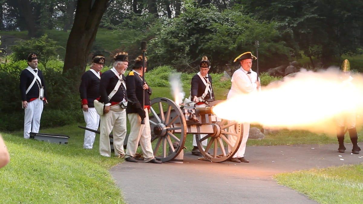 Stony Point: Reenactors bring Revolutionary War battle to life