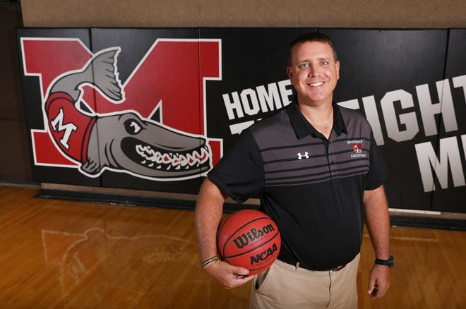Travis Schwab will coach his fifth season as head basketball coach at Muskingum University in New Concord this fall.