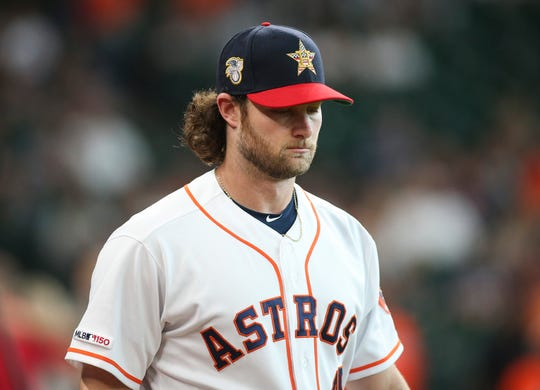 Houston Astros starting pitcher Gerrit Cole is one of many players to suggest change is needed with MLB's economic system.