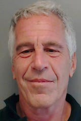 This July 25, 2013 image provided by the Florida Department of Law Enforcement shows financier Jeffrey Epstein. The wealthy financier pleaded not guilty in federal court in New York on Monday, July 8, 2019, to sex trafficking charges following his arrest over the weekend. Epstein will have to remain behind bars until his bail hearing on July 15.