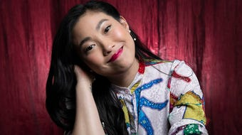 """Awkwafina describes her culture shock in making """"The Farewell"""" in China, where she learned to speak Mandarin """"for survival."""""""
