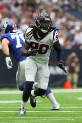 Houston's Jadeveon Clowney has 18.5 sacks over the past two seasons.
