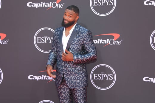 Tyron Woodley, UFC fighter.