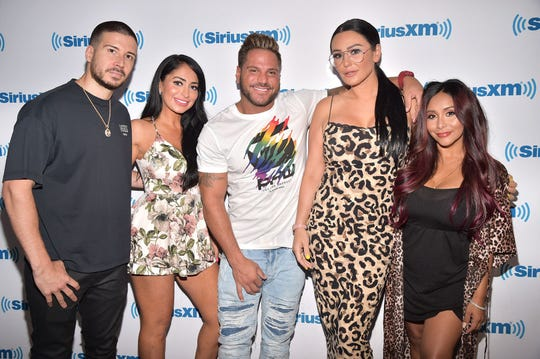 "JWoww says her ""Jersey Shore Family Vacation"" cast including  Vinny Guadagnino, Deena Nicole Cortese, Ronnie Ortiz-Magro, and Nicole ""Snooki"" Polizzi have been supportive of her son's  autism diagnosis."