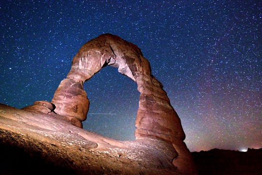 Utah's Arches National Park certified as International Dark Sky Park; what does that mean?