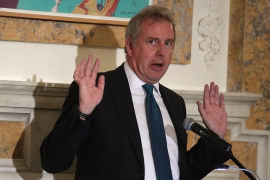 Former British Ambassador Kim Darroch