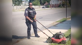 Police officer, Bree Wilson made an unexpected stop and it started a chain of kindness in West York, Pennsylvania.