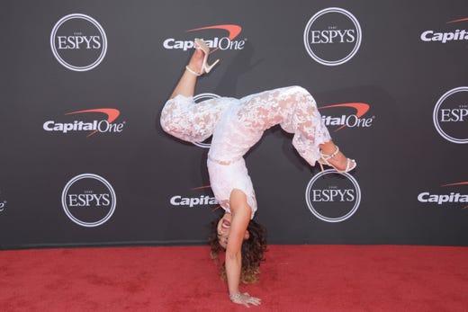 Katelyn Ohashi, gymnast.