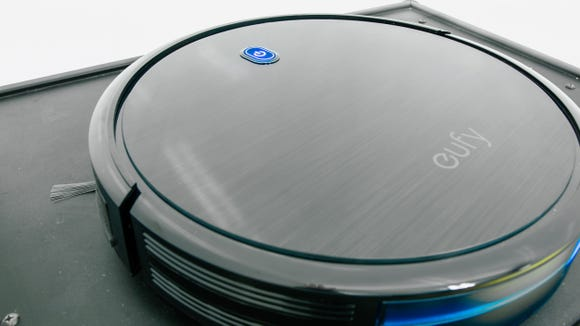 You can finally take a break from your weekly floor cleanings with the Eufy RoboVac 11S.