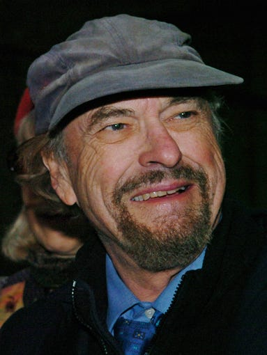 Actor Rip Torn enters Manhattan Criminal Court in New York on Oct. 28, 2004.