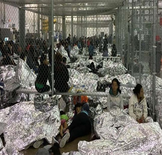 Westlake Legal Group d4dc2e3d-c6ce-49ae-b62e-35aed1179ae7-Overcrowding2 Trump immigration change would all but end asylum requests for Central American migrants
