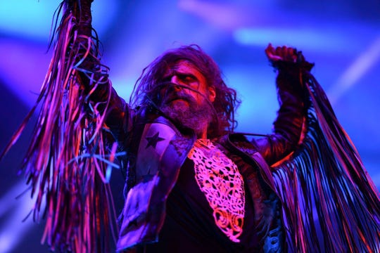 Rob Zombie, who had his set rained out at last year's Rock USA, returns to Ford Festival Park for a Friday night show.
