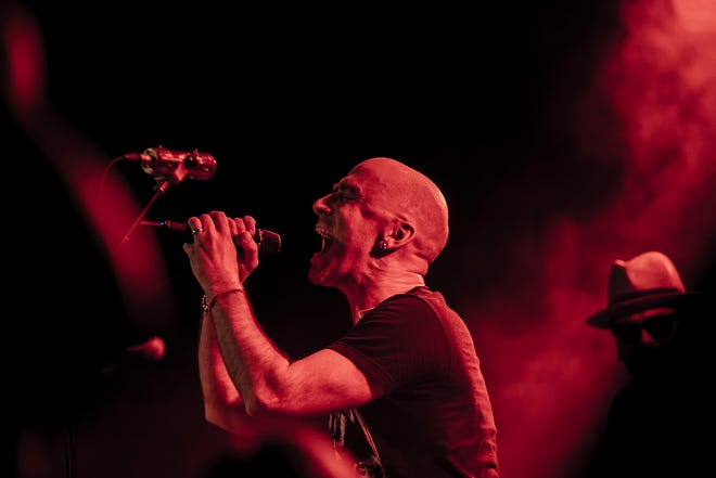 Live, fronted by Ed Kowalczyk, center, are on the road with Bush this summer.