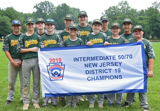 Big Al (last on the right) and his Middletown Intermediate All-Star teammates