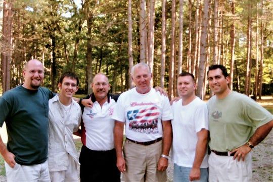 Bill and Gloria Sullivan had five sons: Bill, Mike, Tom, John and Joseph.