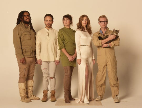Lake Street Dive performs as part of the Lake Champlain Maritime Festival on July 25.