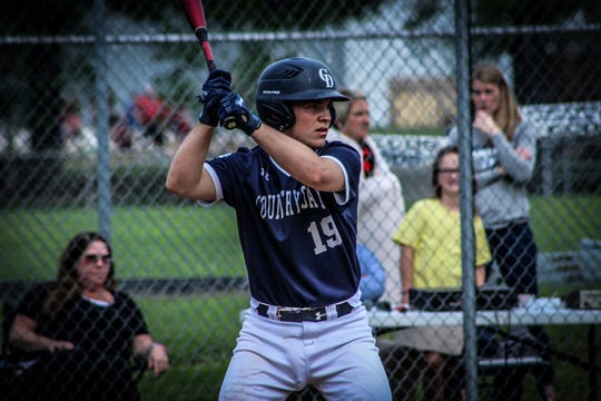 Payton Ebbing of Cincinnati Country Day was The Cincinnati Enquirer's DIII player of the year in baseball in 2019.