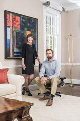 Everything But The House founders Jacquie Denny and Brian Graves.