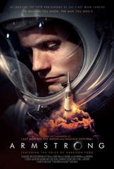 Poster for Neil Armstrong documentary being shown July 19 at the Air Force Museum Theatre, located inside the National Museum of the U.S Air Force, Wright-Patterson AFB.